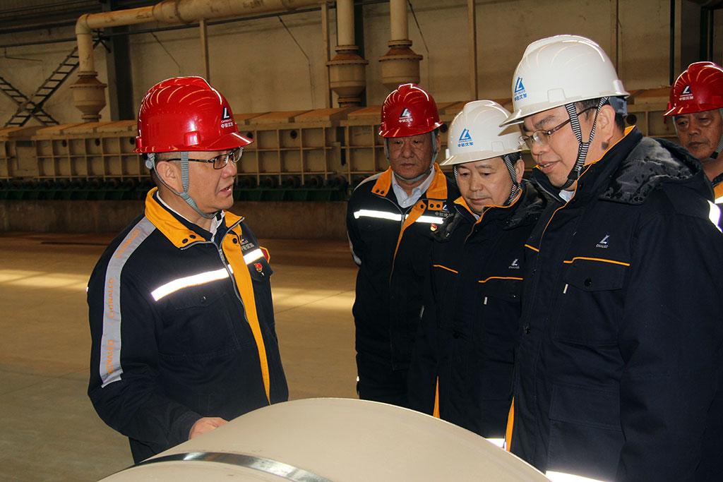 中铝集团党组成员、副总经理刘祥民到中铝沈加调研